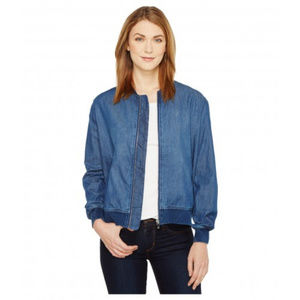 TWO by Vince Camuto denim bomber jacket
